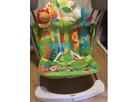 Fisher-Price Rainforest Friends Take-Along Swing and Seat £50