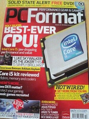 PC FORMAT MAGAZINE OCT 2009 BEST EVER CPU CLASSIC GAMES RECREATED HOT