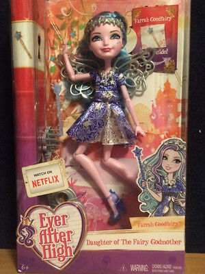 Ever After High Farrah Goodfairy Doll - Daughter of The Fairy Godmother - NEW