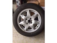 "Set of 4 Mini Cooper 15"" Alloys with 175/65 R 15 Michelin Energy Tyres"