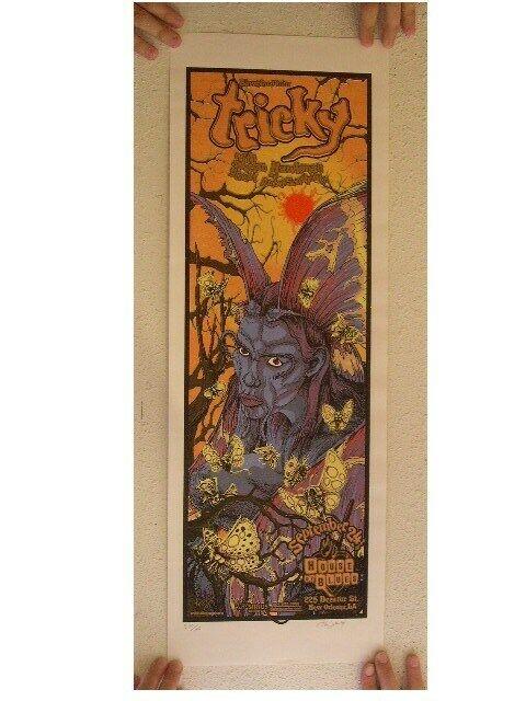 Tricky SilkScreen Poster Allen Jaeger Jr. Jr Mint