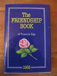 THE  FRIENDSHIP  BOOK  by  FRANCIS  GAY  ...  HARDCOVERED