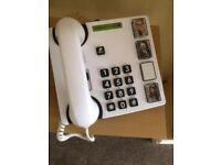 Doro 4 photo big button phone