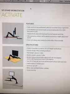 sit to stand monitor arm Cambridge Kitchener Area image 2