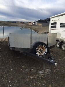 8' x 16' RT Snowmobile / Quad Trailer