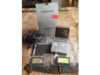 Game Boy Advance SP Silver boxed with Legend of Zelda: Link to The Past & Chu Chu Rocket £25