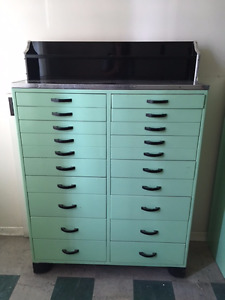 Custom Made Tool Cabinet or Dental Instrument Cabinet