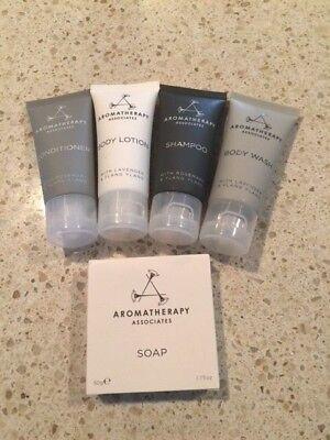 $32 NEW 5 AROMATHERAPY ASSOCIATES BODY LOTION shampoo conditioner soap gel 6/19!