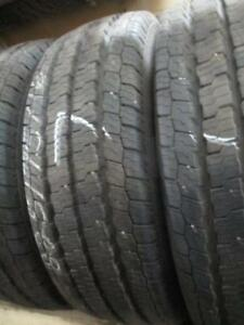 LT 225/75 R16 NEXEN LIGHT TRUCK USED TIRES (SET OF 3) - APPROX. 95% TREAD