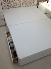 2 drawers double bed