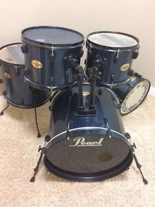 Pearl Target Series 5 Pc Drum Shells