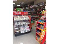 NEWSAGENT SHOP FOR SALE WITH OFF LICENCE/LOTTERY/OYSTER & UPS & AMAZON PARCEL SERVICE