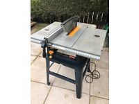 "Ryobi ETS1526AL 254mm (10"") Table Saw 240V with Stand"