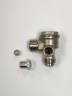 160-591 Hitachi Check Valve 90 Degrees Oem Compressor Repair Part