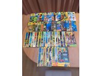 Large rare collection of 59 issues of Discovery box magazines; Issues 14 - 72; in good/vgc