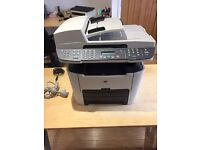 HP 3390 Laserjet Photocopier and Spare Ink Cartridges