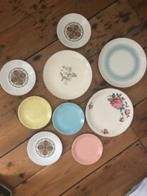 Job lot vintage retro kitchenware and crockery