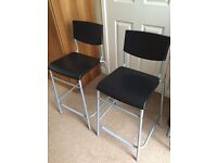 Ikea kitchen stools x 2