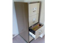 Metal A4 filing cabinet