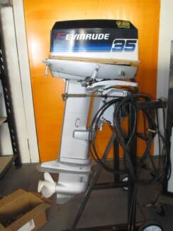 WRECKING 35 HP Evinrude Outboards - 2 Avaliable North Boambee Valley Coffs Harbour City Preview