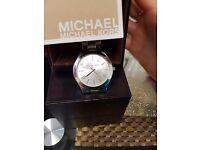 Sliver Michael Kors Slimline Watch