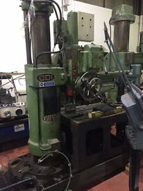 ASQUITH RADIAL DRILL / DRILLING MACHINE