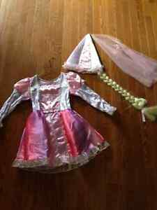 Rapunzel dress up costume