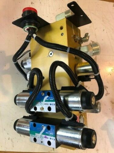 Eaton Vickers Directional Control Valve Feeder Hydraulic System 6024696-001