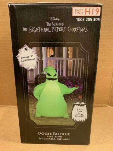 Disney Nightmare Before Christmas OOGIE BOOGIE Halloween Airblown Inflatable