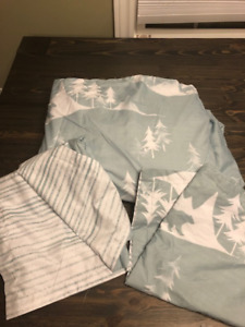 Duvet Covers (King & Twin) Prices beside each item