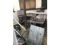 Lots of stainless steel and commercial kitchen equipment for free