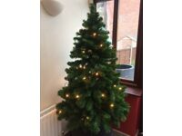 Christmas Tree and Box of Lights for Sale - Great Condition
