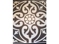 Victoriana Feature Matt Tile 331mm x 331mm Ceramic