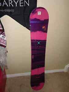 Brand new Women's K2 Duchess Snowboard  Peterborough Peterborough Area image 1