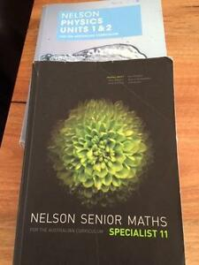 Year 11 text book Maths & Chemistry& Physics Carine Stirling Area Preview