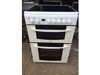 £129.00 Indesit ceramic electric cooker+60cm+3 months warranty for £129.00