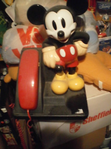 101 Dalmations, Mickey Mouse and Sprout Phones Cambridge Kitchener Area image 5