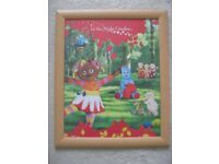child nursery ln the night garden large picture in beech frame - southbourne