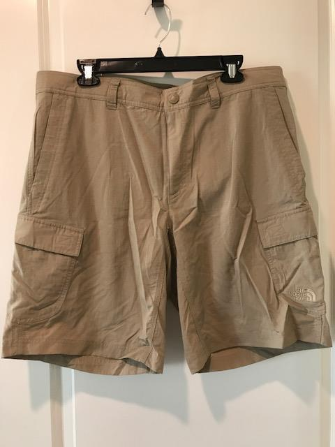 North Face Mens Horizon Cargo Shorts Dune Beige Size 32-40