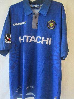 Kashiwa Reysol 1997 Away Match Worn Football Shirt Size XL Adults /10593 image