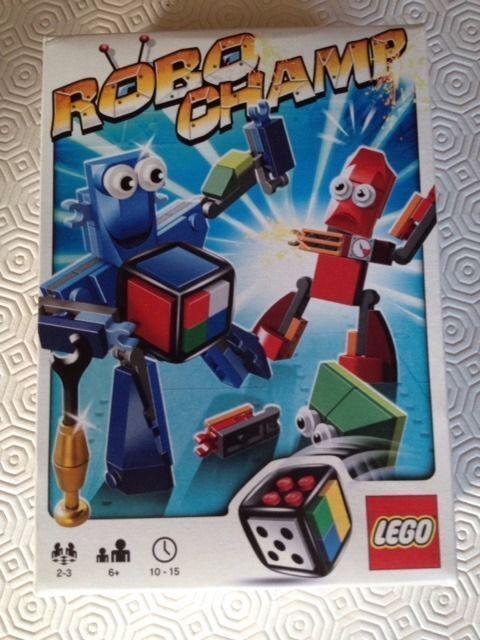 Spiele TOP Lego Spiel 3835 ROBO CHAMP