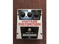 Behringer Vintage Distortion Pedal