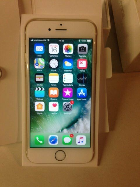 Good condition iPhone 6 16gb Gold and Network Free