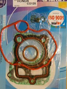 Pochette de joints HAUT moteur pour la Honda 125 CG (114) - France - État : Neuf: Objet neuf et intact, n'ayant jamais servi, non ouvert, vendu dans son emballage d'origine (lorsqu'il y en a un). L'emballage doit tre le mme que celui de l'objet vendu en magasin, sauf si l'objet a été emballé par le fabricant d - France