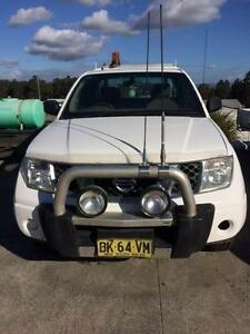 2009 Nissan Navara King Cab 4x4 Ute Singleton Singleton Area Preview