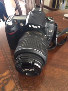 Appareil photo - Nikon D90 + trépied