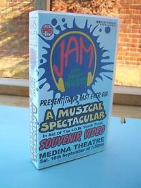 VHS Video JAM Just About Music Isle of Wight Medina Theatre Newport 1995