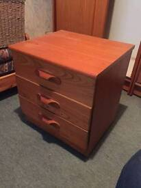 Two Wooden Chest of drawers