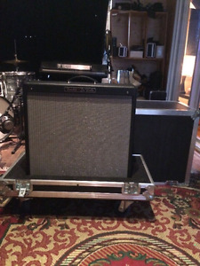 Fender hot rod deville 4x10 avec road case ATA