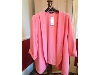 Bargain Evans Salmon Pink Jacket Size 32 New